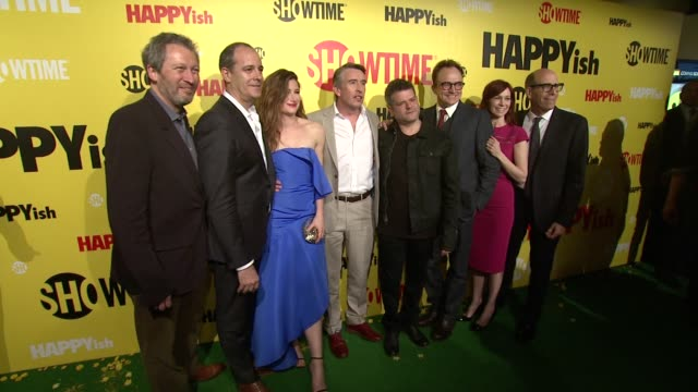 Ken Kwapis David Nevins Kathryn Hahn Steve Coogan Shalom Auslander Bradley Whitford Carrie Preston and Matt Blank at at The SHOWTIME Premiere Of The...