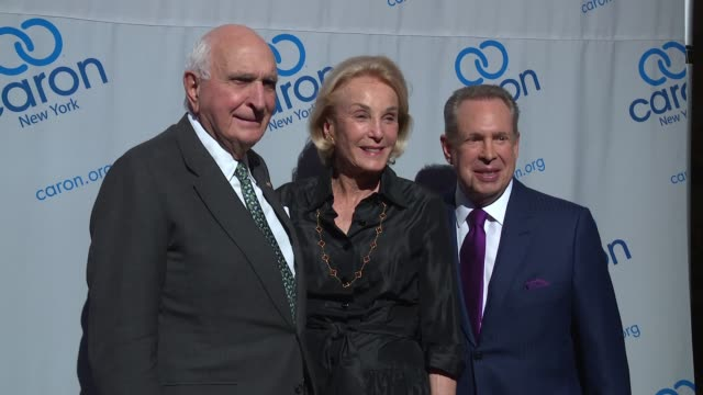 ken langone elaine langone stephen levin at 23rd annual caron new york city gala at cipriani 42nd street on may 10 2017 in new york city - cipriani manhattan stock videos & royalty-free footage