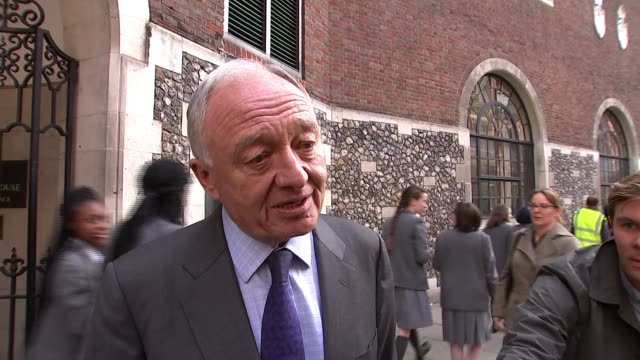 stockvideo's en b-roll-footage met ken livingstone appears before labour disciplinary hearing over comments about hitler ken livingstone interview sot apologise for what i never said... - ken livingstone