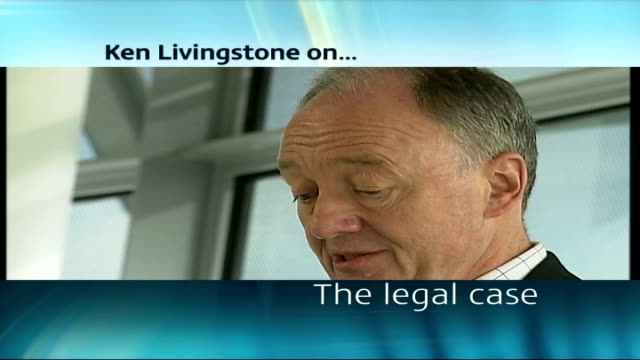 ken livingstone suspension deferred england london city hall int ken livingstone walks to podium at press conference ken livingstone speaking at... - letterbox format stock videos & royalty-free footage