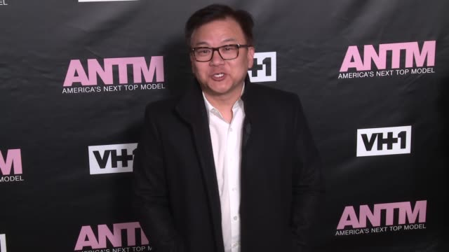 ken mok executive producer of antm at vh1's america's next top model premiere at vandal on december 08 2016 in new york city - mok stock videos and b-roll footage