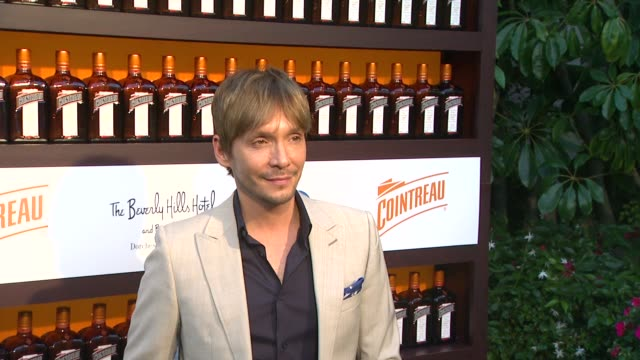 ken paves at cointreau and dita von teese launch cointreau poolside soirees in celebration of the beverly hills hotel's 100th anniversary in beverly... - beverly hills hotel stock videos and b-roll footage