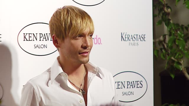 ken paves at the ken paves opens beverly hills salon at ken paves salon in beverly hills, california on september 29, 2006. - beverly hills点の映像素材/bロール