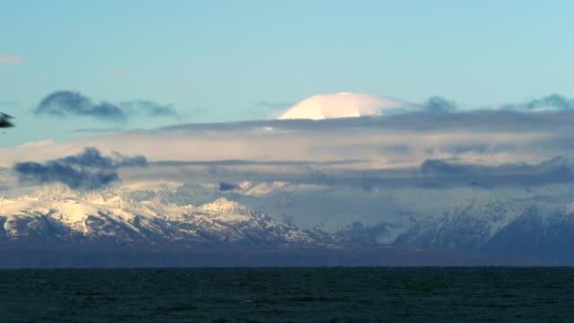 stockvideo's en b-roll-footage met kenai fjords national park time lapse 1 - alaska verenigde staten