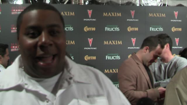 kenan thompson talks about maxim parties and the season finale of snl at the 2006 maxim hot 100 party at buddha bar in new york, new york on may 18,... - ブッダバー点の映像素材/bロール