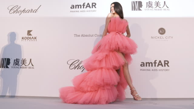 kendall jenner at amfar cannes gala 2019 - arrivals at hotel du cap-eden-roc on may 23, 2019 in cap d'antibes, france. - amfar stock videos & royalty-free footage