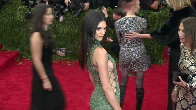 Kendall Jenner at China Through The Looking Glass Costume Institute Benefit Gala Arrivals at Metropolitan Museum of Art on May 04 2015 in New York...