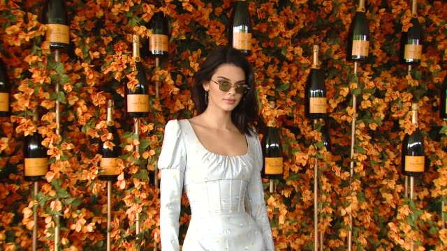 kendall jenner at the ninthannual veuve clicquot polo classic los angeles at will rogers state historic park on october 06 2018 in pacific palisades... - pacific palisades stock videos & royalty-free footage