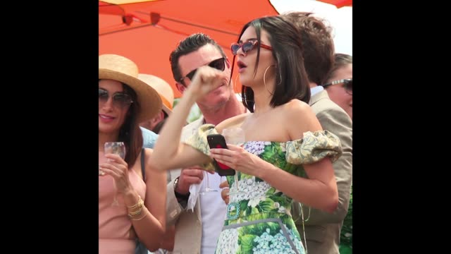 Kendall Jenner at the TenthAnnual Veuve Clicquot Polo Classic on June 03 2017 in Jersey City New Jersey
