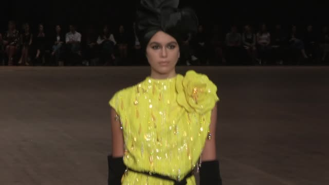 Kendall Jenner Bella Hadid Gigi Hadid Winnie Harlow Kaia Gerber Adwoa Aboah Taylor Hill and their fellow models on the runway for the Marc Jacobs...