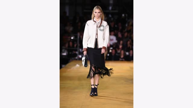 kendall jenner walks the runway at the burberry show during london fashion week september 2019 at troubadour white city theatre on september 16 2019... - vertical stock videos & royalty-free footage