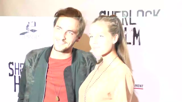 kendall schmidt at the opening night of sir arthur conan doyle's sherlock holmes at the montalban theatre in hollywood celebrity sightings on october... - kendall schmidt stock videos & royalty-free footage