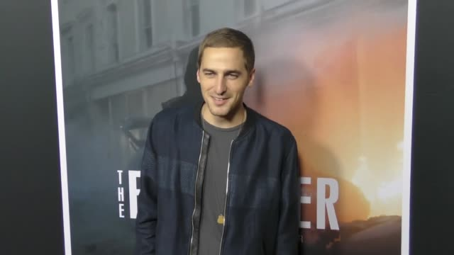 kendall schmidt at the premiere of stx entertainment's 'the foreigner' at arclight hollywood on october 05 2017 in hollywood california - kendall schmidt stock videos & royalty-free footage