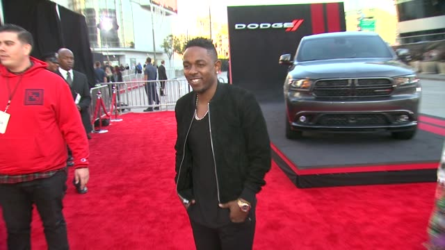 vídeos de stock e filmes b-roll de kendrick lamar at 2013 american music awards powered by dodge in los angeles ca on - american music awards