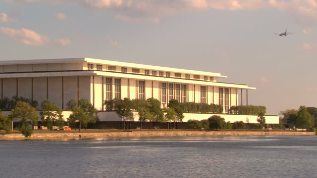hd kennedy center_ws1 (1080/24p) - john f. kennedy center for the performing arts stock videos & royalty-free footage