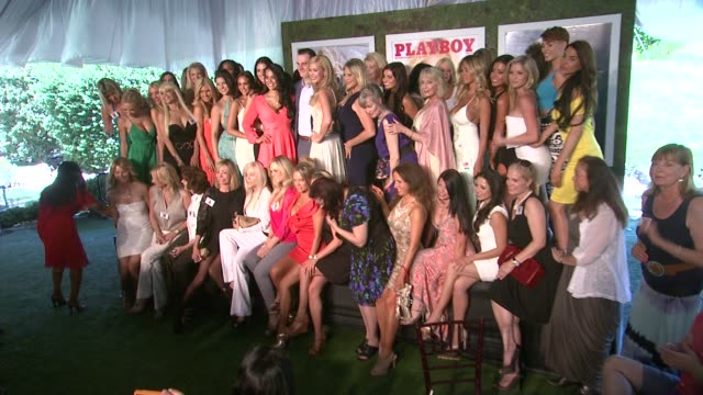 kennedy summers playmates at the playboy's 2014 playmate of the year announcement reception on may 15 2014 in holmby hills california - playboy magazine stock videos and b-roll footage