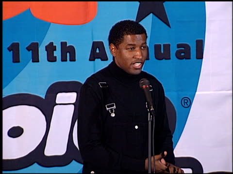 Kenneth 'Babyface' Edmonds at the 1998 Nickelodeon Kids' Choice Awards at UCLA in Westwood California on April 4 1998
