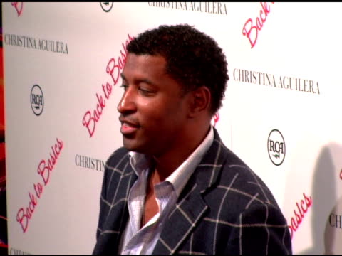 kenneth 'babyface' edmonds at the christina aguilera album party at marquee in new york new york on august 15 2006 - marquee nightclub manhattan stock-videos und b-roll-filmmaterial