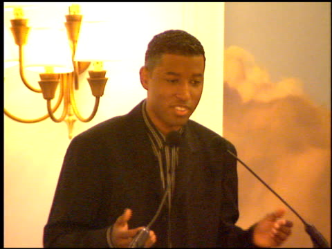 kenneth 'babyface' edmonds at the whitney houston 'waiting to exhale' event on october 18 1995 - whitney houston stock-videos und b-roll-filmmaterial