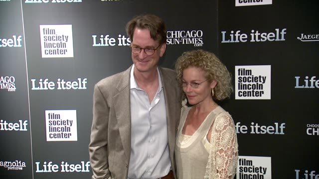 Kenneth Bowser and Amy Irving at 'Life Itself' New York Premiere at The Film Society of Lincoln Center on June 23 2014 in New York City