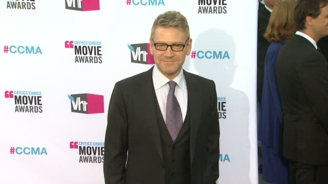 Kenneth Branagh at 17th Annual Critics' Choice Movie Awards on 1/12/12 in Hollywood CA