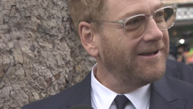 Kenneth Branagh at 'Dunkirk' World Premiere on July 13 2017 in London England