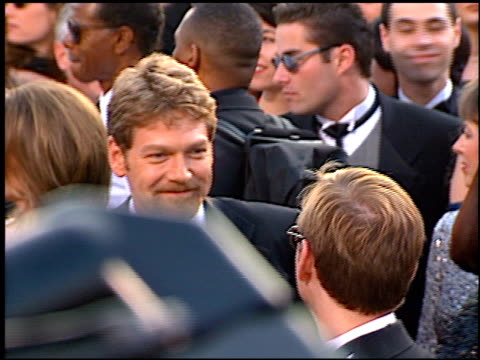 kenneth branagh at the 1997 academy awards arrivals at the shrine auditorium in los angeles california on march 24 1997 - 69th annual academy awards stock videos and b-roll footage