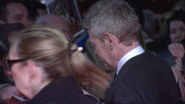 kenneth branagh signing autographs at 32nd london critics' circle film awards 2012 red carpet arrivals at bfi southbank on january 19, 2012 in... - kritiker stock-videos und b-roll-filmmaterial
