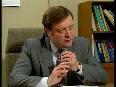 kenneth clarke profile cms clarke sof spring 1991 will see the health service reforms come in i don't want the winter of 1991/2 to be the winter that... - kenneth clarke stock-videos und b-roll-filmmaterial