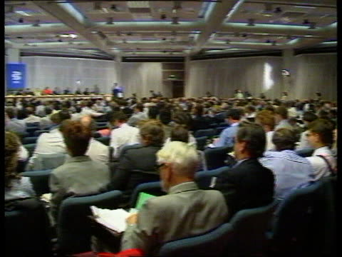 kenneth clarke profile tx bma conf seq doctors voting at conf - kenneth clarke stock-videos und b-roll-filmmaterial