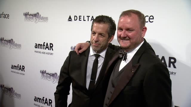 Kenneth Cole and Kevin Robert Frost at 4th Annual amfAR Inspiration Gala New York at The Plaza Hotel on June 14 2013 in New York New York