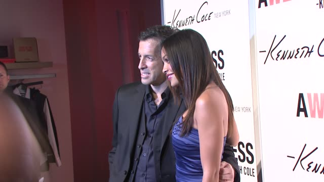 kenneth cole and rosario dawson at the kenneth cole hosts book launch for 'awearness inspiring stories about how to make a difference' at new york... - dawson city stock videos and b-roll footage