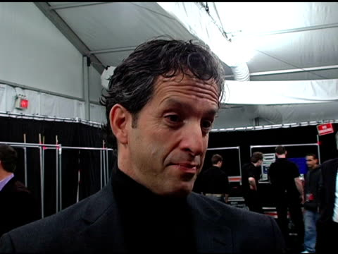 kenneth cole on keeping the fashion business fresh at the olympus fashion week fall 2006 kenneth cole at the tent at bryant park in new york, new... - オリンパスファッションウィーク点の映像素材/bロール