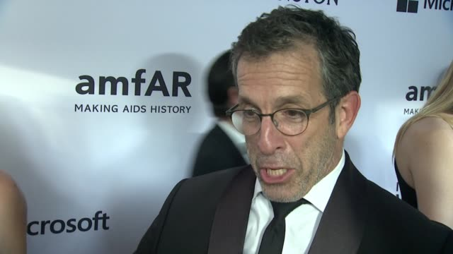 interview kenneth cole on supporting amfar through the years at 2015 amfar inspiration gala new york at spring studios on june 16 2015 in new york... - amfar stock videos & royalty-free footage
