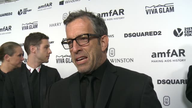 INTERVIEW Kenneth Cole on why its important to continue to raise awareness for the work amfAR does at amfAR's Inspiration Gala Los Angeles 2015 in...