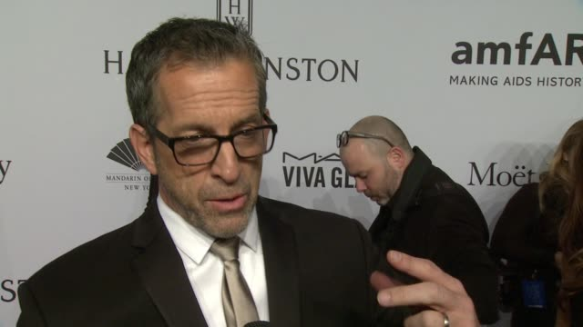 INTERVIEW Kenneth Cole talks about being involved with amfAR and how the Gala if the kick off NYFW Shares why Harvey Weinstein deserves to be honored...