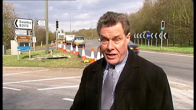 kenneth noye road rage murder appeal begins; kent: reporter to camera - kenneth noye stock videos & royalty-free footage