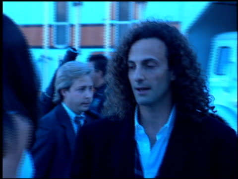 kenny g at the 1994 billboard music awards at universal amphitheatre in universal city, california on december 7, 1994. - universal city video stock e b–roll