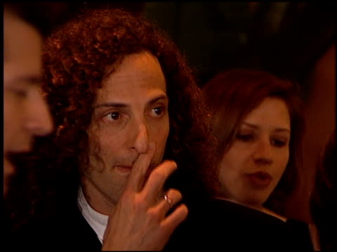 kenny g at the arista records grammy awards party at the beverly hilton in beverly hills california on february 27 1996 - 1996年点の映像素材/bロール