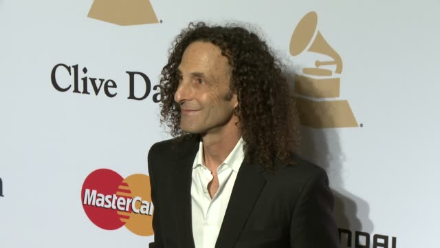 kenny g at the pre-grammy gala and salute to industry icons honoring martin bandier at the beverly hilton hotel on february 07, 2015 in beverly... - the beverly hilton hotel stock videos & royalty-free footage