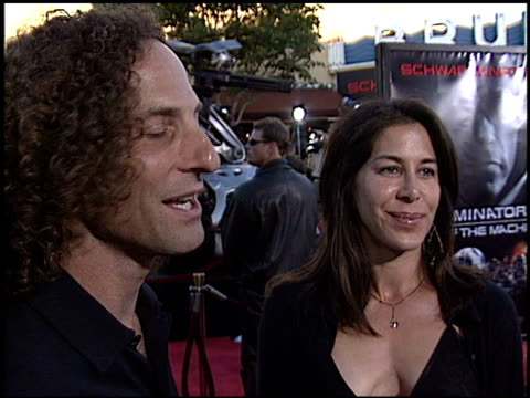 kenny g at the 'terminator 3: rise of the machines' premiere on june 30, 2003. - terminator 3: rise of the machines stock videos & royalty-free footage