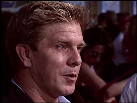 kenny johnson at the 'mr 3000' premiere at the el capitan theatre in hollywood, california on september 8, 2004. - el capitan theatre stock videos & royalty-free footage