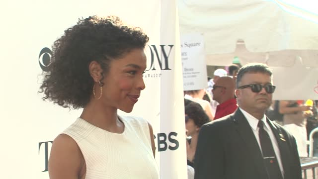 kenny leon, sophie okonedo at 2014 tony honors cocktail party at paramount hotel on june 02, 2014 in new york city. - sophie okonedo stock videos & royalty-free footage
