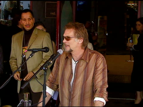 Kenny Loggins Inducted Into The RockWalk of Fame Hollywood CA 3/7/07 in Hollywood California on March 8 2007