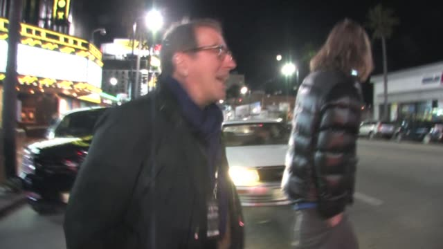 kenny ortega at the black eyed peas' seventh annual peapod benefit concert at the celebrity sightings in los angeles at los angeles ca - the black eyed peas band stock videos and b-roll footage