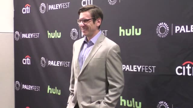 kenny schwartz at the paley center for media's paleyfest 2016 fall tv preview - abc at celebrity sightings in los angeles on september 10, 2016 in... - paley center for media los angeles stock videos & royalty-free footage