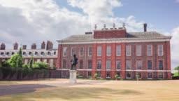 Kensington Palace time lapse