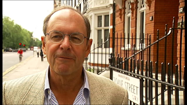kensington residents claim sports cars cause noise pollution england london knightsbridge ext bruce beringer interview sot - bruce stock videos & royalty-free footage