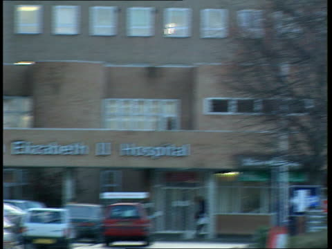 kent hospital sickness appeal kent hospital sickness appeal hertfordshire welwyn garden city qwii hospital hospital buildings - welwyn garden city stock videos and b-roll footage