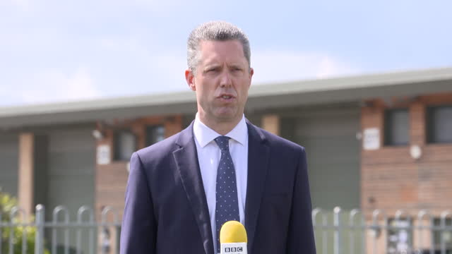 """kent police assistant chief constable tom richards saying staff will be """"fully supported"""" after the murder of pcso julia james - kent england stock videos & royalty-free footage"""